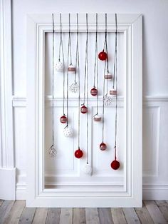 Different xmas decoration by Ikea Noel Christmas, Christmas Balls, Winter Christmas, All Things Christmas, Christmas Crafts, Christmas Ornaments, Hanging Ornaments, Simple Christmas, Ikea Xmas