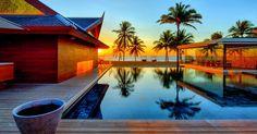 Iniala beach house: ultimate luxury villa in Phuket Bad Windsheim, Beachfront Rentals, Estilo Tropical, Home Wallpaper, Cool Pools, Interior Exterior, Pool Designs, Architecture, Beach House