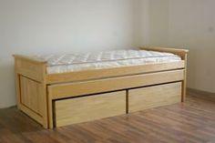 Lit canapé ado avec sommier relevable et lit inférieur - Lits ...