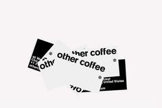 other coffee® Identity & Packaging on Behance