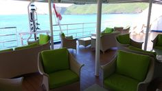 The lounge at the back of the ship - a great place for an end of the day cocktail! (which by the way drinks are reasonably priced!) #Aranui #Marquesas #adventure