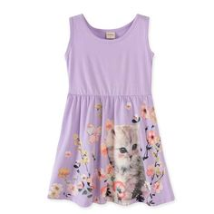 2-10 years 2017 baby girl dress girls tank dress. kids summer party princess dresses children clothing butterfly  ladybug fox