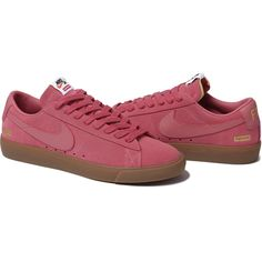 Supreme®/Nike SB Blazer Low GT $98 honeys i wanttt