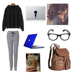 """""""Untitled #94"""" by forever30-1 on Polyvore featuring rag & bone, H&M, Vinyl Revolution and Speck"""