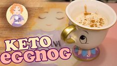 Keto EggNog recipe that comes with both Rum and Non Alcoholic EggNog recipe. For the Virgin EggNog the recipe uses a Marsala Wine flavouring that makes it th. Low Carb Ketosis, Ketosis Diet, Non Alcoholic Eggnog Recipe, Eggnog With Rum, Wine Flavors, Homemade Eggnog, Low Carb Drinks, Low Carb Sweets