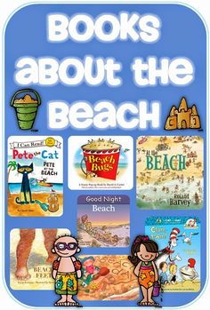 Books about the Beach and a freebie Clever Classroom blog