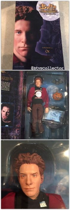 """Sideshow Collectibles (1:6 Scale) 12"""" Buffy the Vampire Slayer Figure - Oz - Exclusive Version Limited to 500. Has Dingoes Ate My Baby TShirt. #btvscollector #btvs #buffy #buffythevampireslayer"""