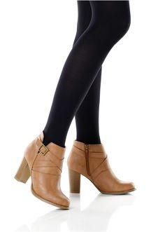 Botine Botine elegante ornate frumos cu • 119.9 lei • bonprix Silhouette, Ankle, Collection, Casual, Shoes, Fashion, Moda, Zapatos