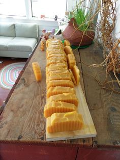 Sweet Anise Cider Soap --made with orange 5X, rosewood, cedar wood, anise and black pepper essential oil blend.
