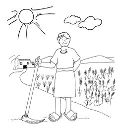 Vineyard Workers Parable Coloring Pages