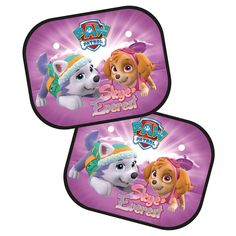 Paw Patrol Skye and Everest Sunscreens 2 - Pack