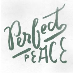 Day Seventeen - Perfect Peace #theprmsprjct by Sara Kovacs