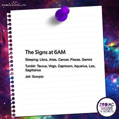 What The Zodiac Signs Do At 6 Am - https://themindsjournal.com/zodiac-signs-6/