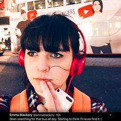 Hm... should we tell her?..... Markiplier / BirdyBoots / Jacksepticeye / Mark Edward Fischbach / Emma Louise Blackery / Sean William McLoughlin / Vloggery Sean William Mcloughlin, Markiplier, Cat Ears, The Funny, Youtubers, Board, People, Sign, Planks