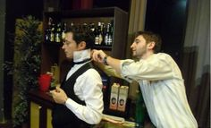 Mario - the Barman