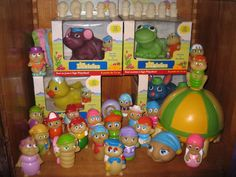 glo friends - their treehouse was my favorite toy!