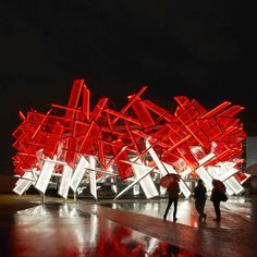 Coca-Cola Beatbox For the London Olympics, Asif Khan Pernilla Ohrstedt created a pavilion which doubles as a musical instrument Coca Cola, Innovative Architecture, Dezeen Architecture, Parametric Architecture, Contemporary Architecture, Interior Architecture, Contemporary Art, Interior Design, Interactive Art