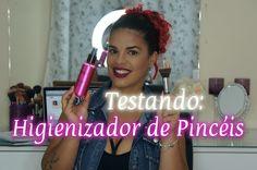 TESTANDO: Higienizador de Pincéis da daillus - por Keila Anatiele!