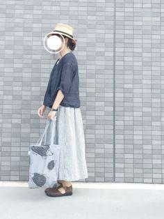 na-ko|帽子を使ったコーディネート