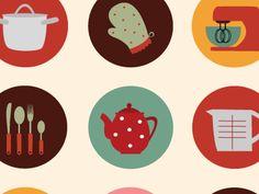 Kitchentools_vectorillustration_by_livirajzok