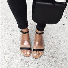 Contemporary modern sandals