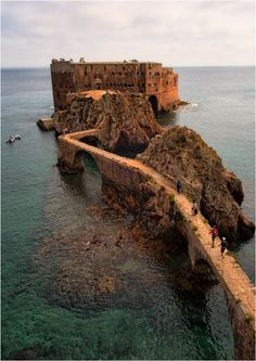 The Fort - Berlengas, Leiria - Portugal Visit Portugal, Portugal Travel, Europe Destinations, Amazing Destinations, Portugal Attractions, Lisbon Map, World Icon, Place To Shoot, Travel And Leisure