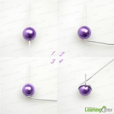 How to make post earrings out of common 6mm bead and 18 gauge wire - Pandahall.com