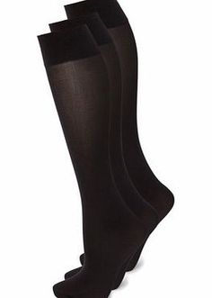 Bhs Womens Black 3 Pack of 40 Denier Ankle Highs, 3 pairs of soft touch 40 denier opaque ankle highs with a unique body temperature control finish to help keep your legs warm when its cold and cool when its hot.93% Nylon 7% LycraMicrofibre for a soft http://www.comparestoreprices.co.uk/fashion-clothing/bhs-womens-black-3-pack-of-40-denier-ankle-highs-.asp
