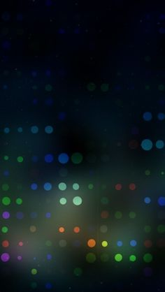 Blurred Dots #iPhone #5s #Wallpaper