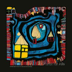 Friedensreich Hundertwasser - End of the Waters
