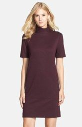 Donna Morgan Mock Neck Knit Shift Dress available at Nordstrom.