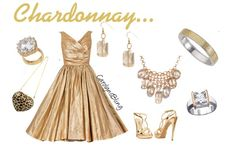 """Chardonnay"" by carolynsbling on Polyvore"
