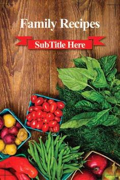 Full-Color Stock Cover 917   Recipe Organizing   Pinterest