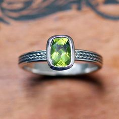 Hey, I found this really awesome Etsy listing at https://www.etsy.com/listing/158868570/peridot-gemstone-ring-august-birthstone
