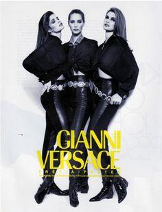 Gianni Versace supermodels