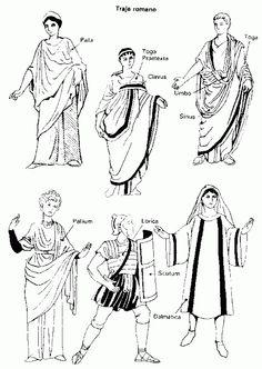 15.El arte helenístico era el que gozaba de mayor prestigio entre nuestros antepasados latinos, por lo que la vestimenta romana se relacionaba más con la griega que con la bárbara. Las prendas romanas aumentan en comparación con la griega, ropa interior, pantalones, túnicas, mantos...