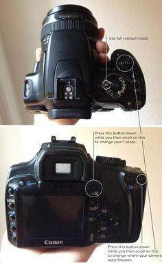 Using your DSLR