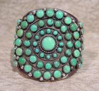 Navajo Bracelet @Eugene Belone #turquoise