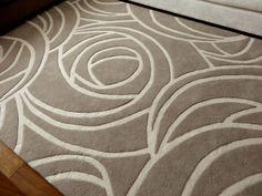 Alfombra Camelia de la Colección Floral. Fabricada en lana de oveja. #alfombras #rugs #livingdesign