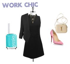 """""""Work at chic"""" by lala9867 ❤ liked on Polyvore"""