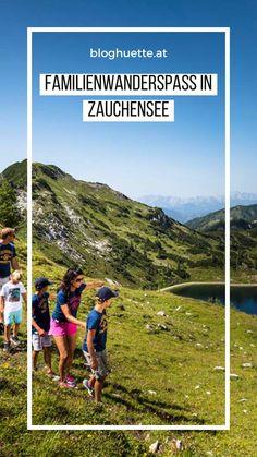 Eine Wanderung mit Kindern ist ein ganz besonderes Erlebnis. Wir Erwachsenen bekommen dabei die Chance, die Welt mit Kinderaugen wahrzunehmen: Ein Tannenzapfen kann auf einmal der tollste Schatz auf Erden sein, der plätschernde Bach wird zum Abenteuerland und Murmeltiere zu faszinierenden Zauberwesen. #bloghuette Geocaching, Helpful Hints, Activities, Mountains, Nature, Travel, Pine Cones, Hiking Trails, Alps