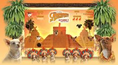 DISNEY Disney Pictures : Chihuahuas de Beverly Hills Para promocionar entre los más pequeños el lanzamiento de una película protagonizada por perros, desarrollamos un Brand Game basado en el guión y los personajes de la historia. ver demo: http://www.e-zense.com/portfolio/disney/chihuahuas/brand-game/