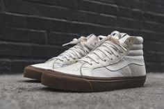 "Vans Vault Sk8-Hi LX ""Marshmallow & Gum"" - EU Kicks: Sneaker Magazine"