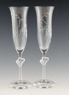 Disney Party Ideas Disney Wedding Glasses