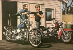 ПОТОК СОЗНАНИЯ 1.0 - David Mann. Bikers Art.