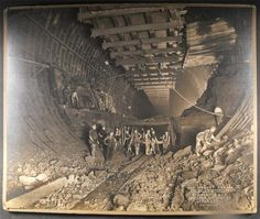 Mersey Tunnel construction 1929, Stewart Bale