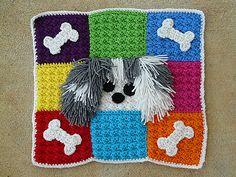 """crochetbug13's """"A pet mat for Toby""""."""