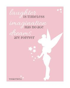 Disney Quote Tinkerbell by GreenSplashDesigns on Etsy