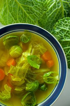 Simple vegan cabbage soup that will restore and nourish your body Also great for detox or cleanse. Cabbage Soup Diet