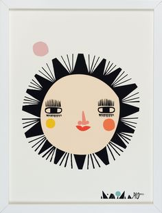 Mariann Doherty-looking for art that is less 'baby' and more toddler & in to her young childhood. love this print!